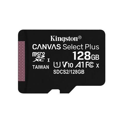 Kingston 128GB Canvas Select Plus microSDXC 100R A1 C10 w/o ADP (SDCS2/128GBSP)