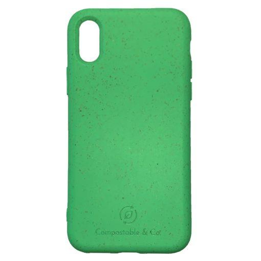Mint Green - IPHONE X / XS KOMPOSZTÁLHATÓ / BIOLÓGIAILAG LEBOMLÓ TELEFONTOK